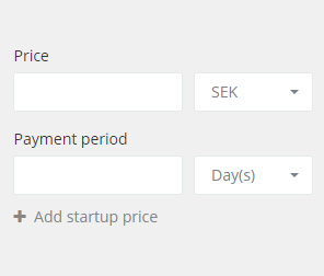Price box - Contract management