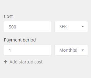 Cost analytics