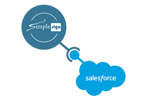 SalesForce Logo SimpleSign