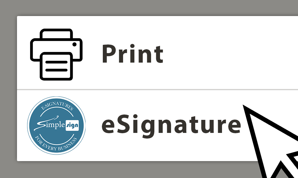 Print or eSign