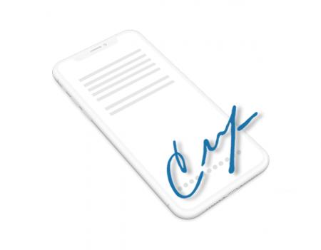 e-signera på alla enheter
